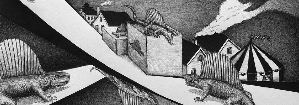 dimetrodonn door Arne Brink