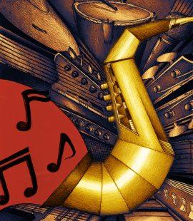 Arne Brink, Saxofoon